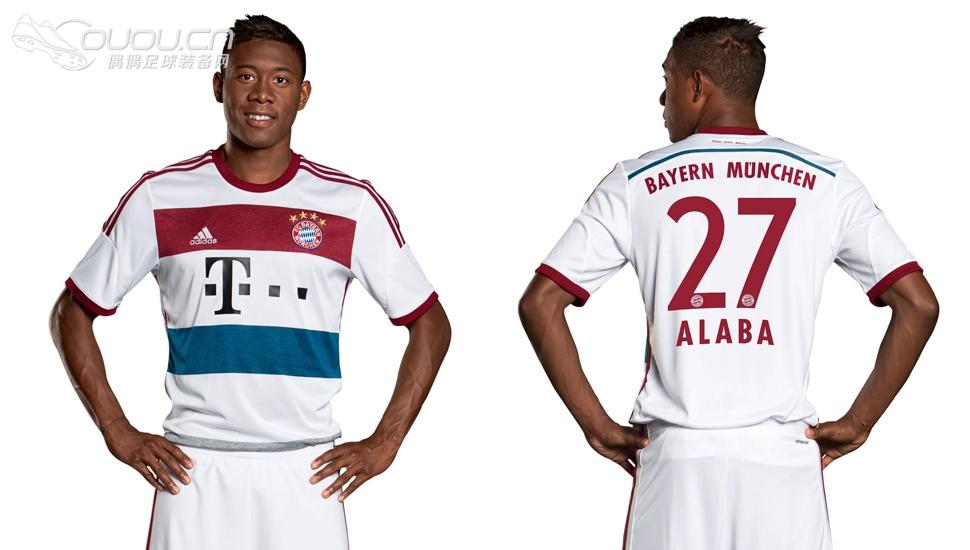 2014-2015拜仁慕尼黑客场球衣|球衣及配件 - 足球装备图片