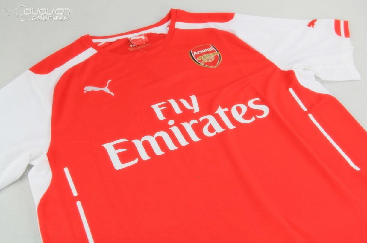 puma 新赛季助力阿森纳 推出以未来,永恒和胜利为核心理念的三款球衣图片