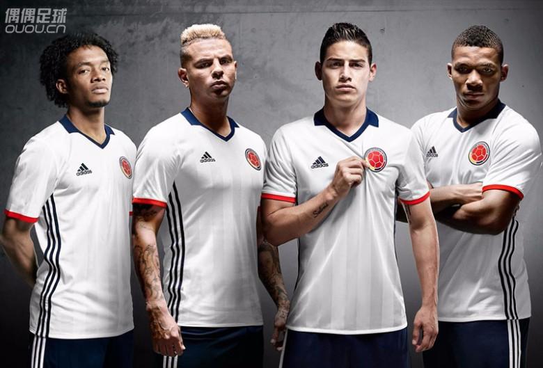 哥伦比亚国家队2016百年美洲杯特别球衣