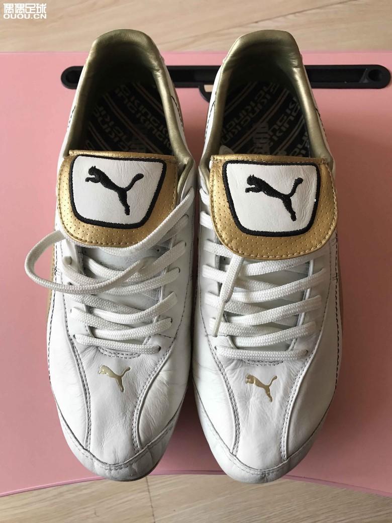 交易区 350元包邮白色马王经典足球鞋  闲置一双正品的彪马king系列
