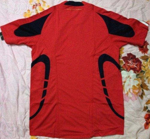 队红色球员版团队之星经典模板formotion训练短袖