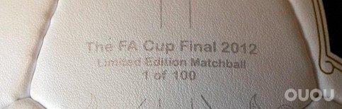 Umbro 发布FA决赛用球
