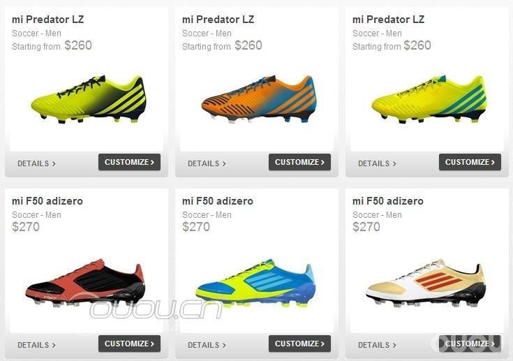 """代购:香港专柜""""mi Adidas个性化自定义配色"""""""