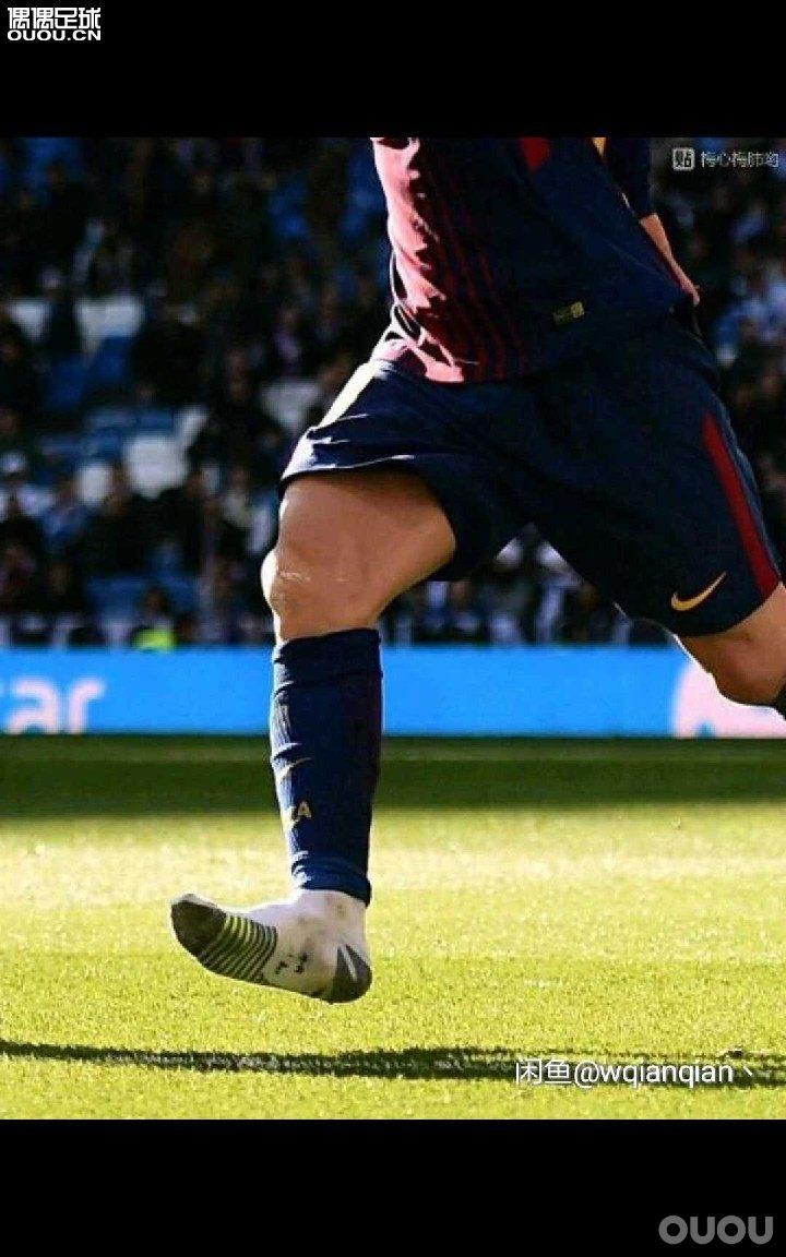 本人脚码比较尴尬,一般足球鞋都是43厚袜太紧,44太松。现在都在穿nike局部加厚的grip系列,感觉不错。