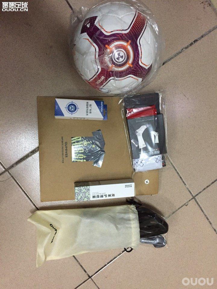 开箱!偶能足球、汗衫、鞋撑、中袜、皮革护理喷雾、树脂胶水。全是实用的!