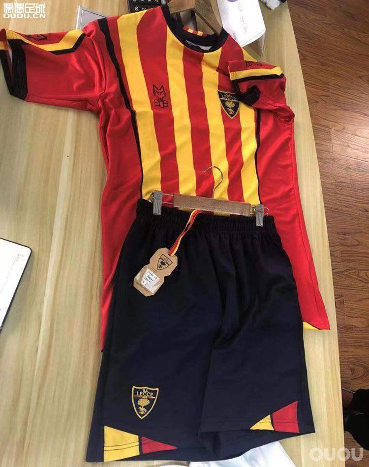 18-19赛季 正品官方意甲莱切足球主场球衣