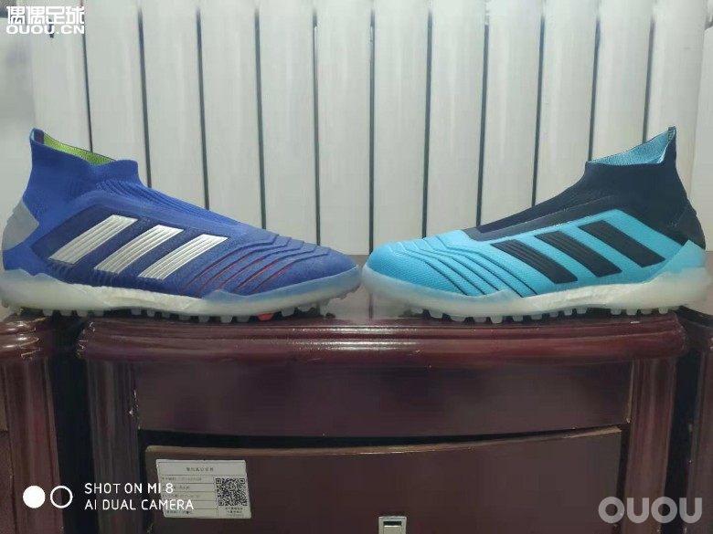 猎鹰19+TF鞋头及鞋面材质对比