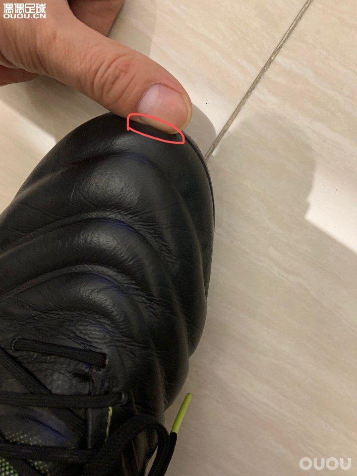 Copa19.1 ag 大脚趾刚刚好这样选大半码会如何?