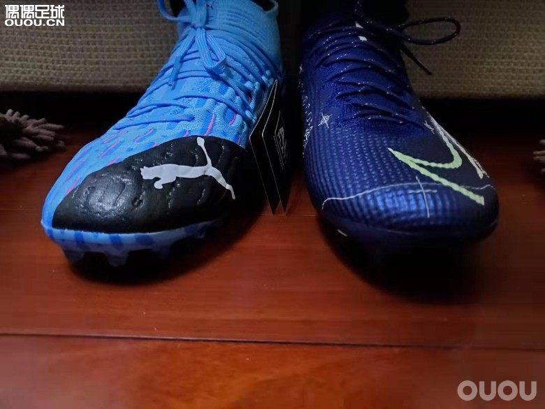 鞋子收到了刺客13AGVS PUMA FUTURE 5.1