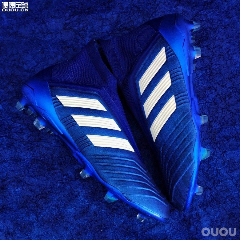 扎蓝夜鹰—Adidas Predator 18+ FG Deadly Strike