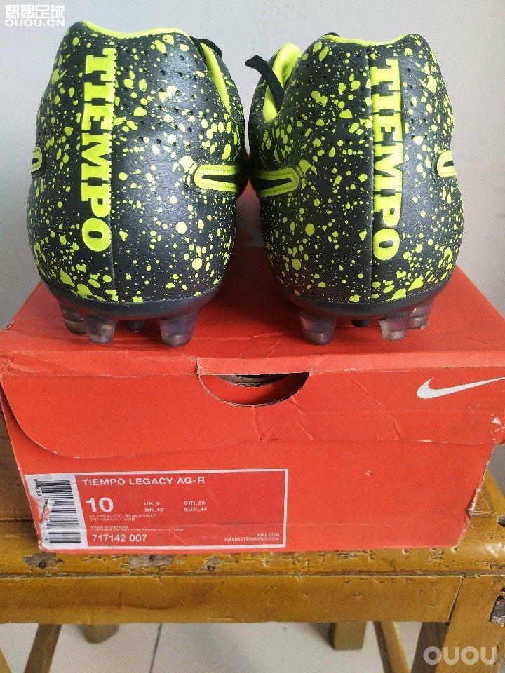 NIKE TIEMPO LEGACY AG  次顶级的传奇AG足球鞋  44码传奇5次顶agr大底44码jp280